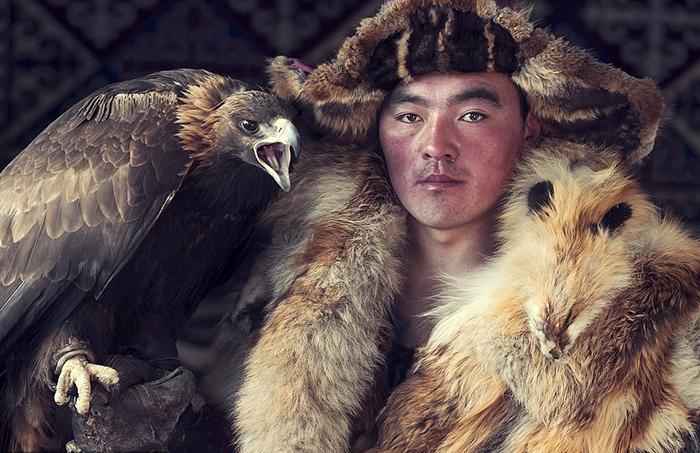 Казах из Монголии.